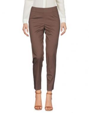Повседневные брюки ROSSO35. Цвет: коричневый
