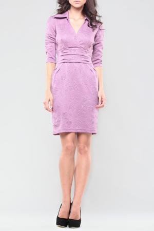 Платье Dioni. Цвет: сиреневый, принт