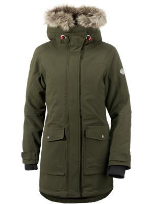 Куртка Vega DIDRIKSONS. Цвет: темно-зеленый