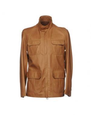 Куртка SERAPHIN. Цвет: коричневый