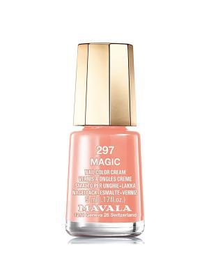 Лак для ногтей тон 297 Magic Mavala. Цвет: светло-оранжевый