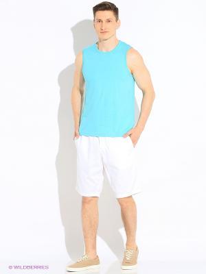 Бермуды S.OLIVER. Цвет: зеленый, серый, белый