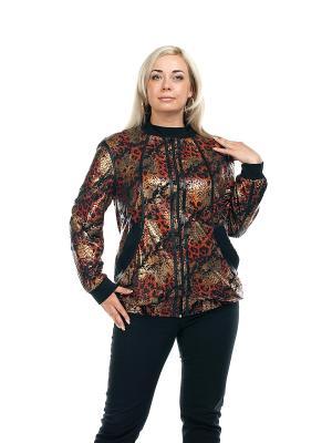 Куртка OLSI. Цвет: красный