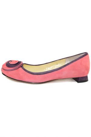 Туфли Luciano Barachini. Цвет: розово-коралловый