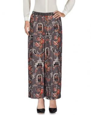 Повседневные брюки SUOLI. Цвет: свинцово-серый