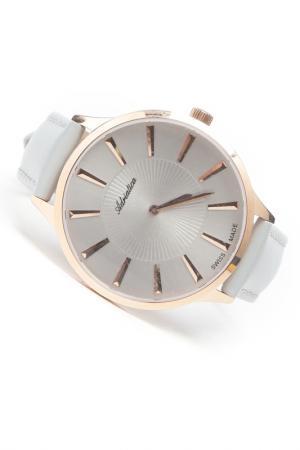 Часы наручные Adriatica. Цвет: графит, розовый
