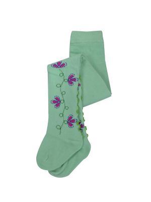 Колготки Master Socks. Цвет: зеленый