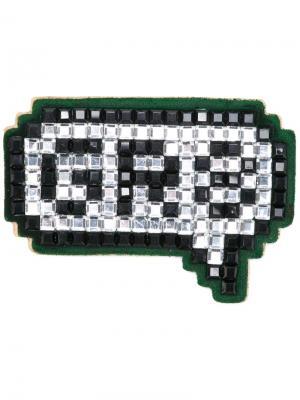 Стикер GR8 Anya Hindmarch. Цвет: зелёный