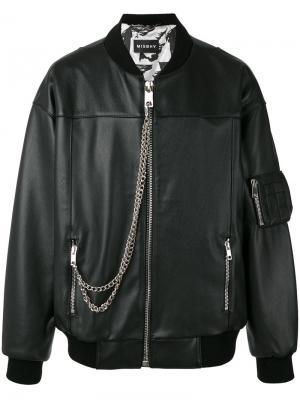Куртка-бомбер Desire Misbhv. Цвет: чёрный