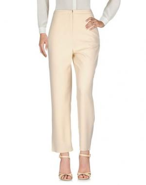 Повседневные брюки NICE THINGS by PALOMA S.. Цвет: бежевый