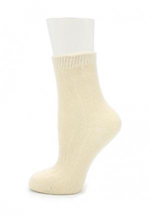 Носки Mango. Цвет: бежевый