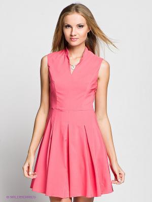Платье Verezo. Цвет: коралловый