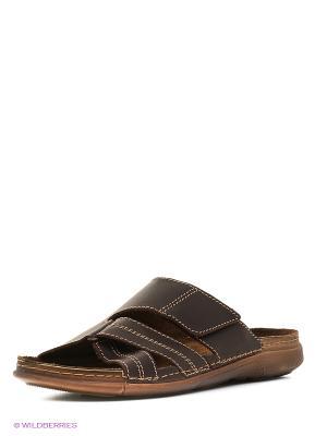 Пантолеты Inblu. Цвет: коричневый