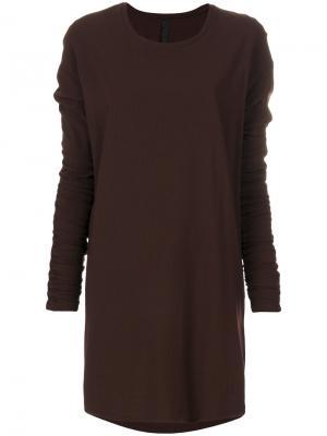 Платье-свитер Ilaria Nistri. Цвет: красный