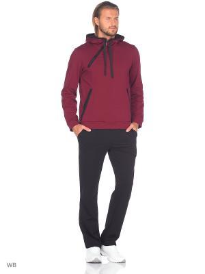 Спортивный костюм FORLIFE. Цвет: бордовый, черный