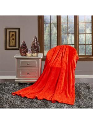 Покрывало Айр-софт Павлина. Цвет: оранжевый