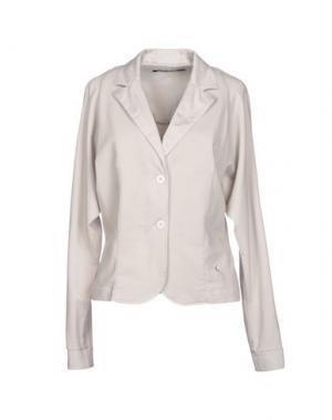 Пиджак EUROPEAN CULTURE. Цвет: светло-серый