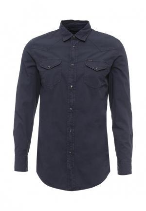 Рубашка Diesel. Цвет: синий
