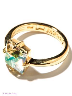 Кольцо Jenavi. Цвет: светло-желтый, золотистый