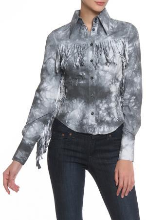 Рубашка John Richmond. Цвет: 0990, w серый