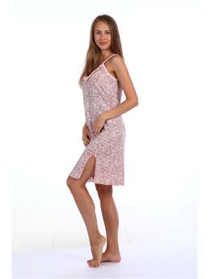Ночная сорочка Pastilla. Цвет: розовый