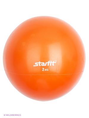 Медбол STARFIT GB-703, 2 кг, оранжевый. Цвет: оранжевый