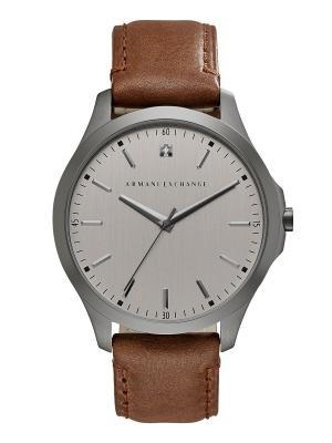 Часы Armani Exchange. Цвет: серый, коричневый