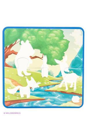 На лесной опушке:: водораскраски-пазлы Феникс-Премьер. Цвет: зеленый, белый