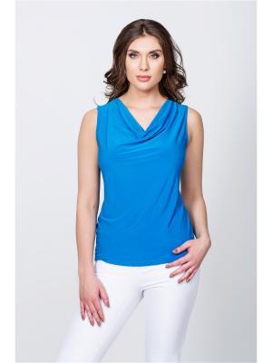 Блузка ELNY. Цвет: синий