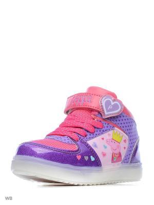 Ботинки Kakadu. Цвет: сиреневый, розовый