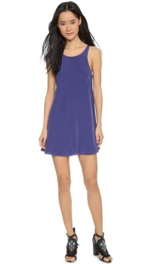Платье Lo Rory Beca. Цвет: голубой
