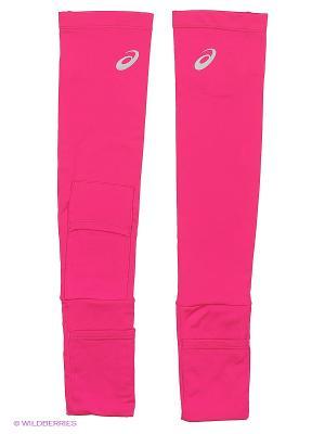 Нарукавник с карманом для медиаустройств ARMWARMER WITH MP3 POCKET ASICS. Цвет: розовый