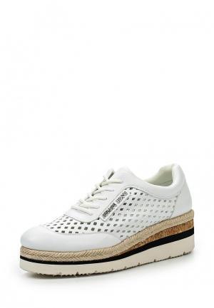 Ботинки Armani Jeans. Цвет: белый