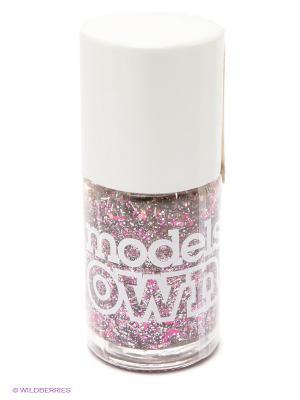 Лак для ногтей, Nail Polish Roman Candle Models Own. Цвет: серебристый, фиолетовый