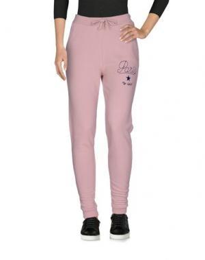 Повседневные брюки MY T-SHIRT. Цвет: розовый