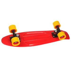 Скейт мини круизер  Orboard Red 6 x 22.5 (57.2 см) Taste. Цвет: красный