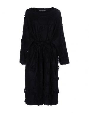 Платье до колена COLLECTION PRIVĒE?. Цвет: темно-синий