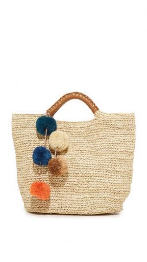 Объемная сумка с короткими ручками Belle Kayu