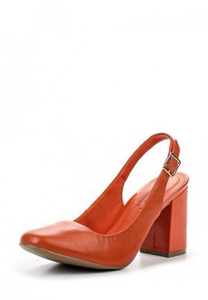 Туфли Ramarim. Цвет: оранжевый