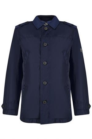 Куртка Finn Flare. Цвет: голубой