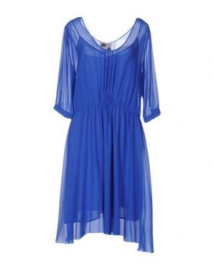 Платье до колена ATTIC AND BARN. Цвет: синий