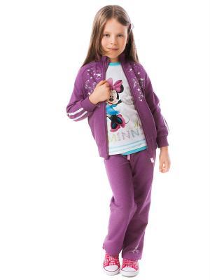 Спортивный костюм PlayToday. Цвет: лиловый