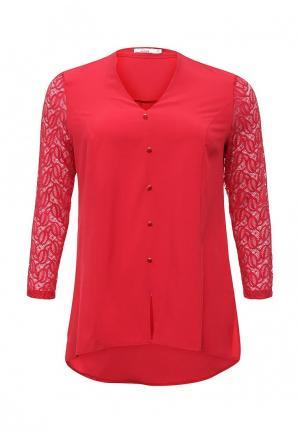 Блуза Lina. Цвет: красный