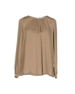 Блузка AGLINI. Цвет: хаки