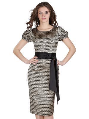 Платье OLIVEGREY. Цвет: золотистый