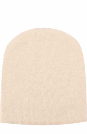 Кашемировая шапка Tegin. Цвет: светло-бежевый