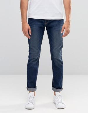 Troy Облегающие джинсы. Цвет: синий