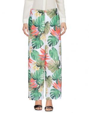 Повседневные брюки PAOLA T.. Цвет: зеленый