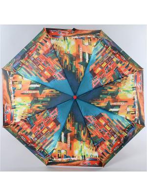 Зонт Zest. Цвет: оранжевый,синий,голубой