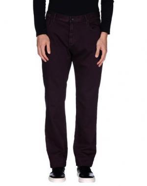 Повседневные брюки JOHN VARVATOS ★ U.S.A.. Цвет: баклажанный